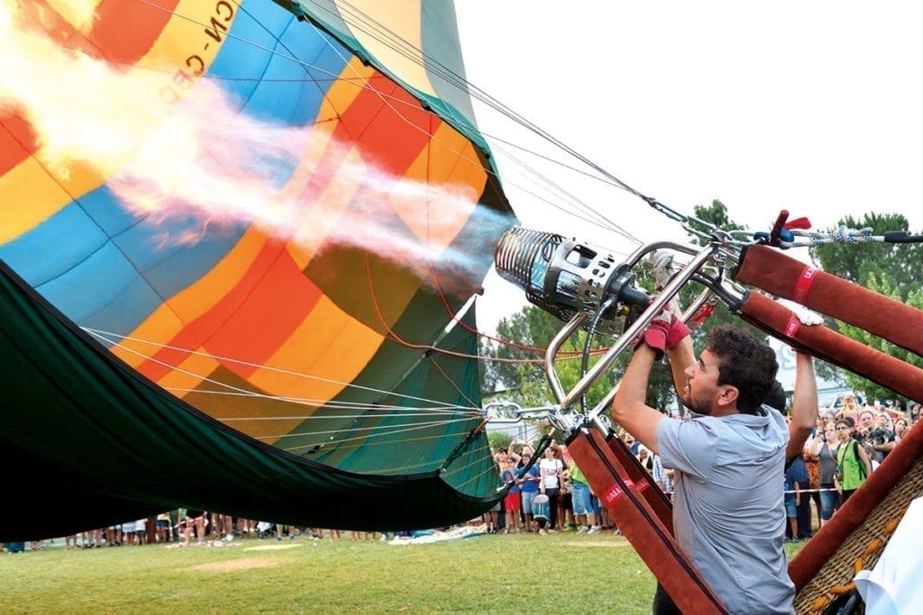 Le pilot veut partir : European Balloon Festival - Igualada