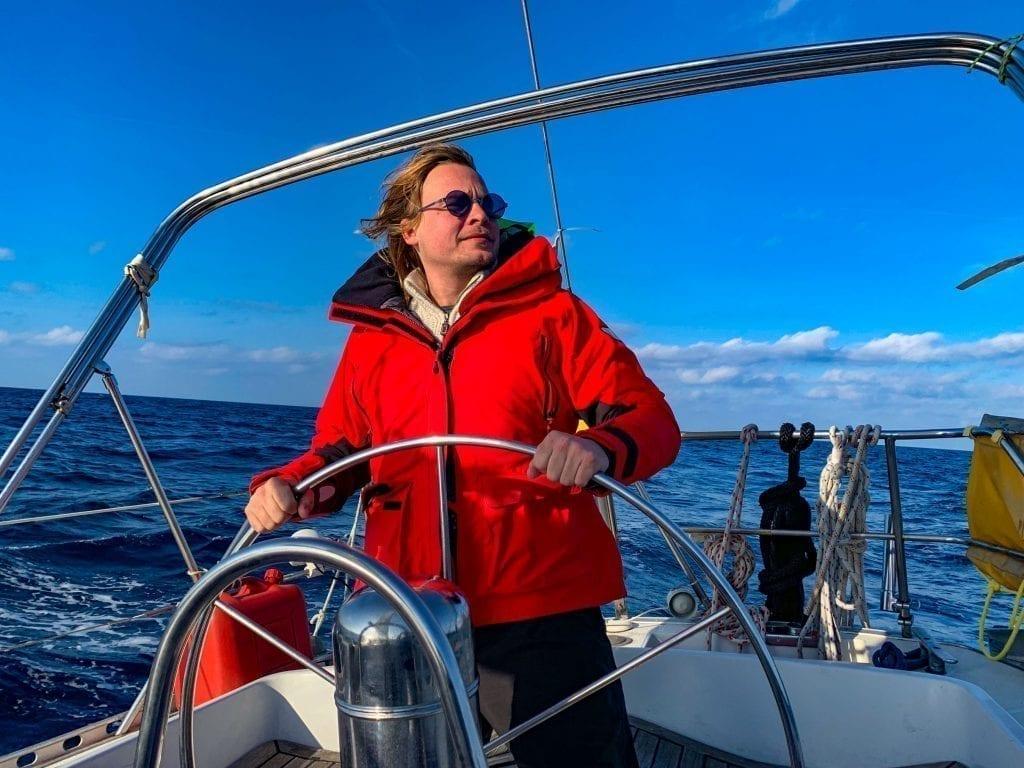 Segelboot Kapitän - segeln