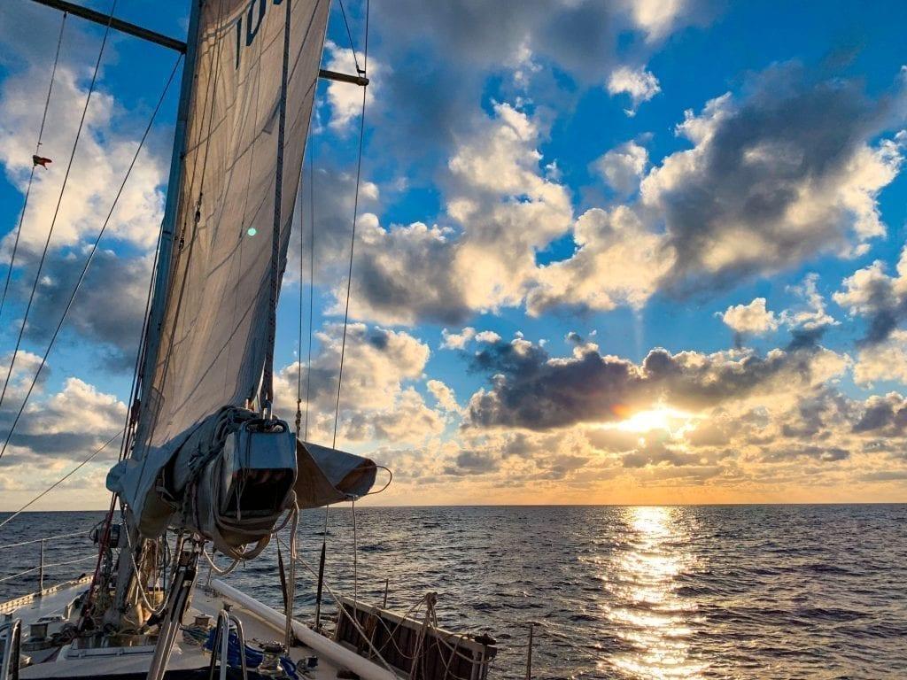Romela Segelboot