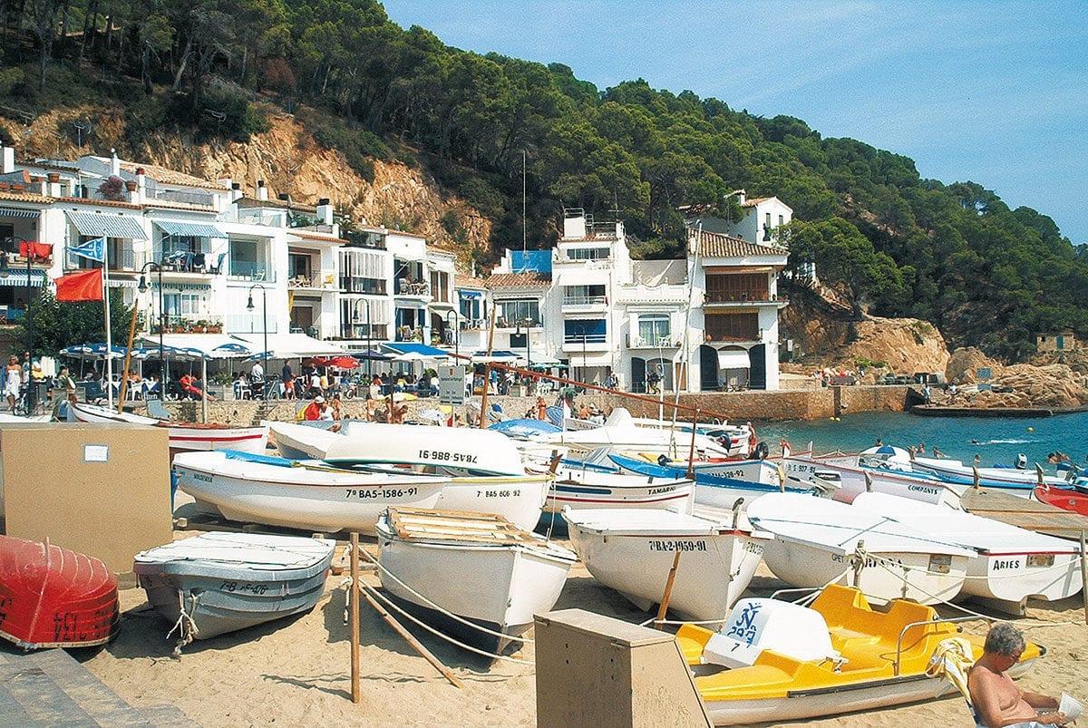 winzige Traumbucht an der Costa Brava