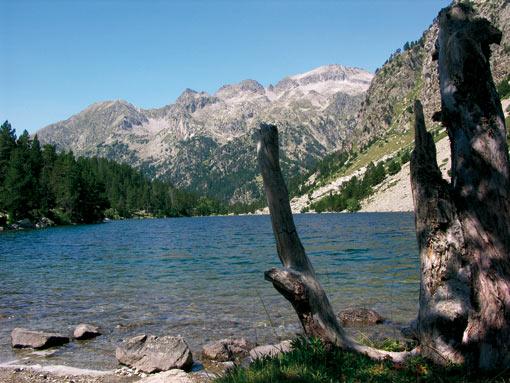 Wunderschöner See im Aiguatortes