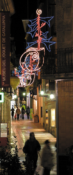 Figueres Einkaufstrasse