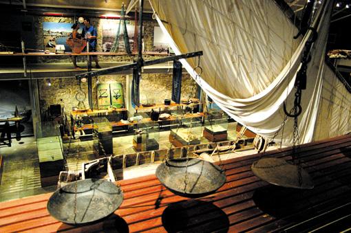 Waage Fischerei Museum Palamos