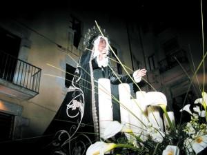 Die Madonna aus der Katedrale in Girona zu Ostern