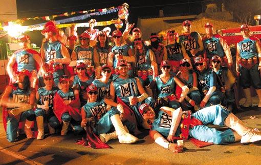 Roses Karneval Duff Bier