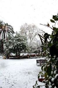 Costa Brava mit Schnee