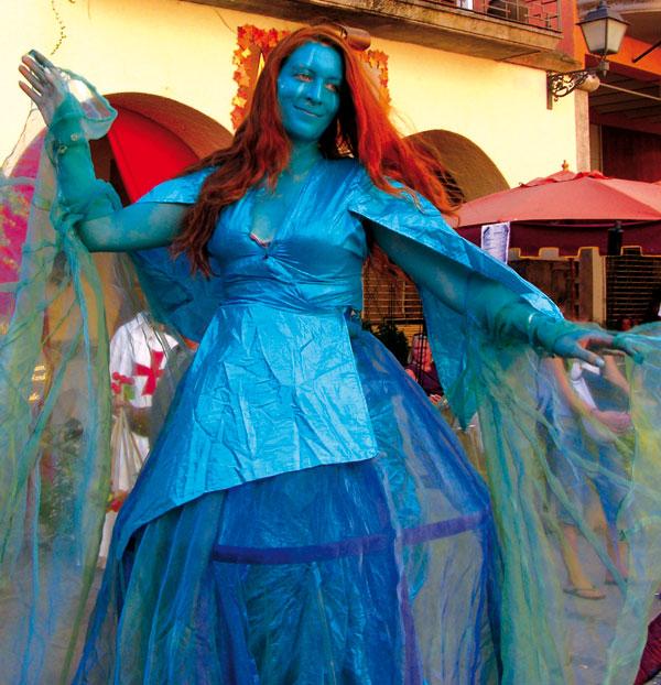 Mittelalterfest in Castelló d'Empuries, Costa-Brava