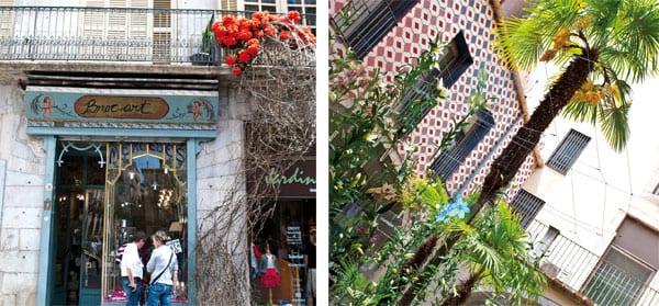 Die gesamte Altstadt von Girona präsentiert sich im bunten Gewand