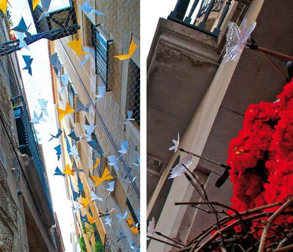 Girona im Blütenrausch im Bari vell