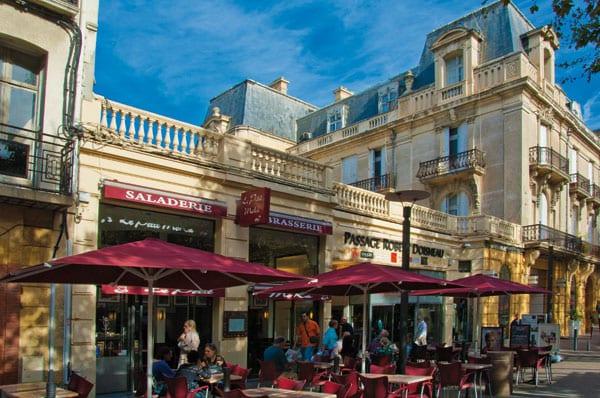 Ausflug in die schöne Stadt Perpignan an der Côte Vermeille