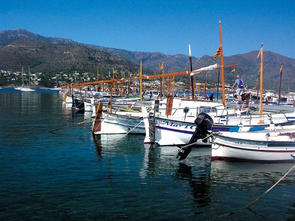 Ausflug in die katalanische Stadt Port de la Selva an der Costa Brava