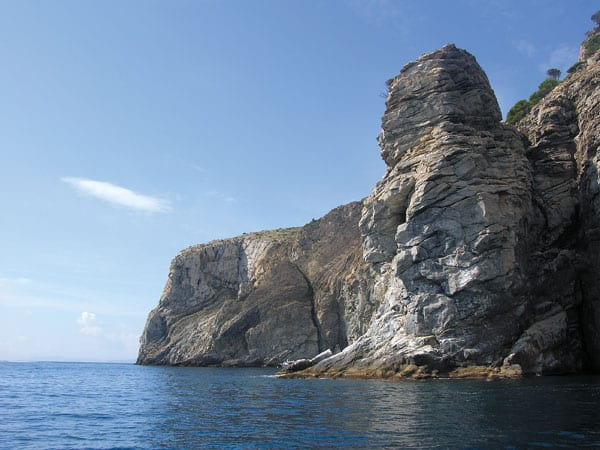 Steilküste an der Costa Brava