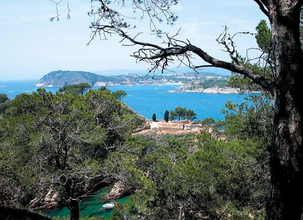 Tour an der Costa Brava