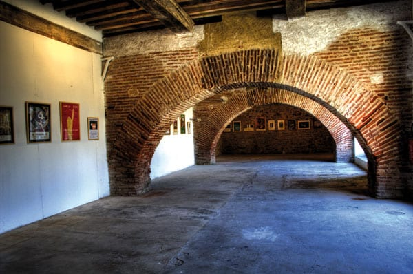 Ausstellungen über die Geschichte des Forts