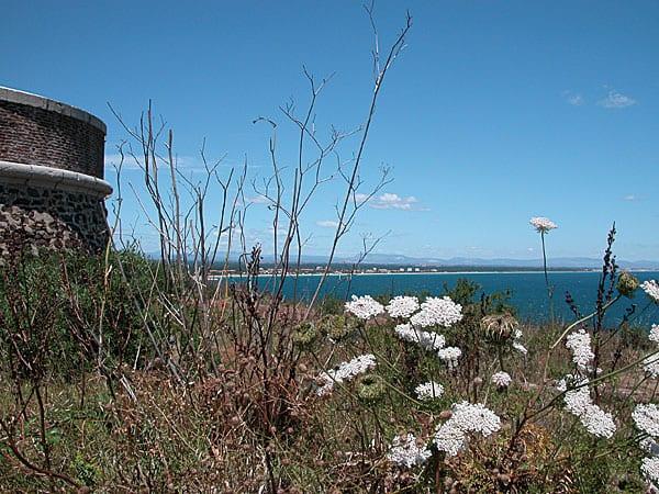 Panoramablicke aufs Meer