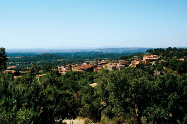 Panoramablick von der Burg aus