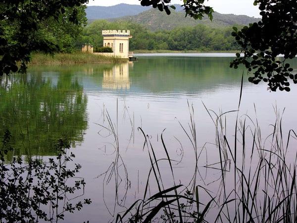 Spaziergang rund um den See von Banyoles