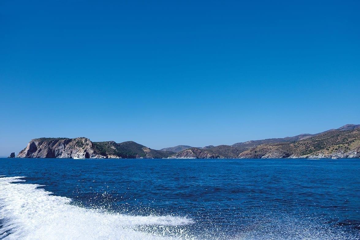 sea and mountains, catalunya, spain, summer