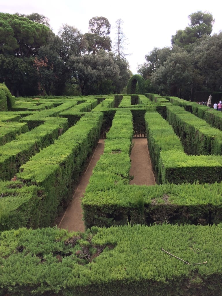 Labyrinth in Barcelona