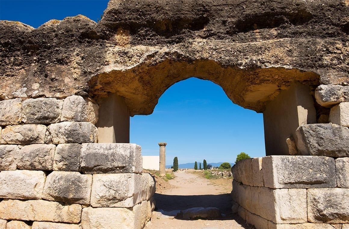 Viaje a través del tiempo - A las ruinas de Empúries