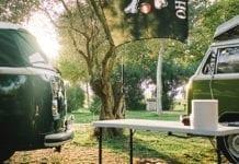 Camping, Bulli, T2, T3, T1, Volkswagen, vintage car, Costa Brava