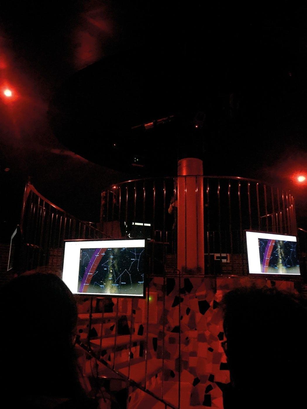 PAM, Montsec, astronomie, teleskop
