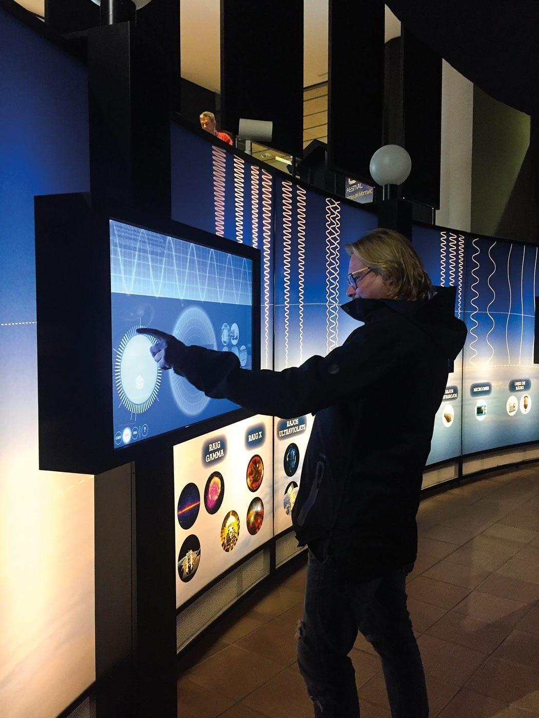 PAM, Montsec, astronomie, interaktiv, exposition