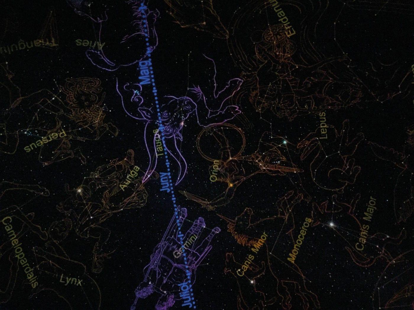 PAM, Montsec, astronomie, teleskop, sternenbild