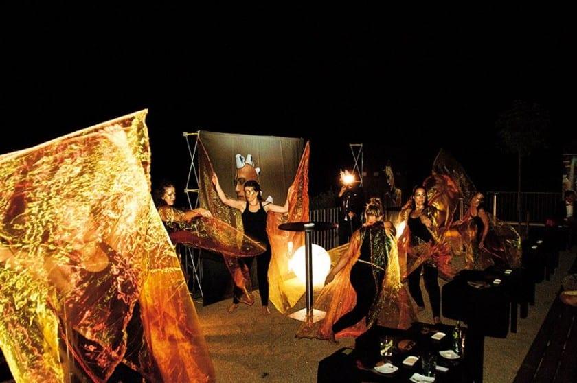 Tänzer bei der Sensorium Gala