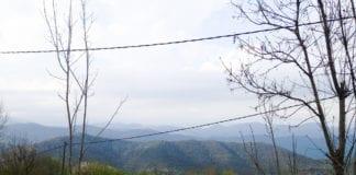 Grandioser Ausblick über die Landschaft.