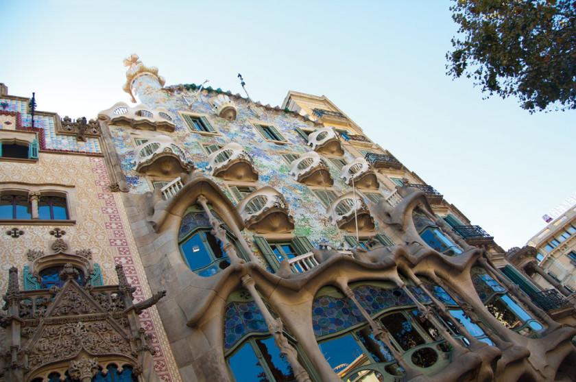 Das Gaudí Haus am Passeig de Graçia.