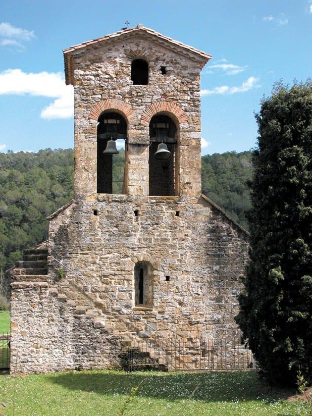 Romanische Kirchen auf der Rundfahrt bei Besalú