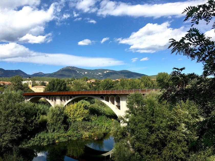 Besalu - Brücke - Pyrenäen