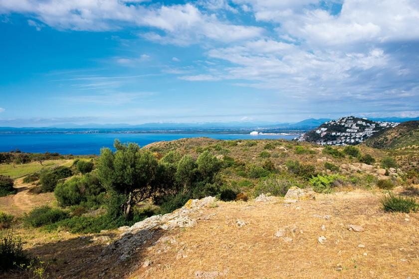 schöne Landschaft von Punta Falconera