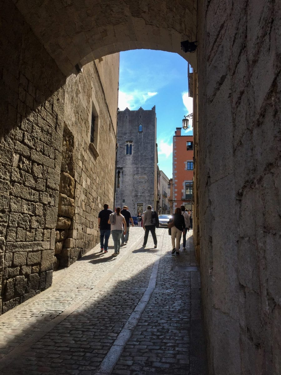 Altes Stadttor in Girona