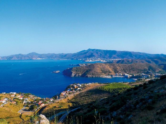 Blick auf die Bucht vor Colera
