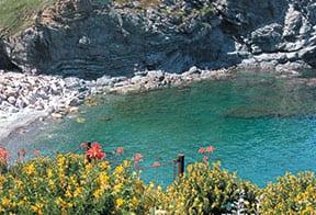 Blick auf die Bucht von Portbou