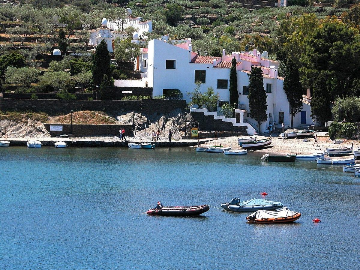 Dalís Wohnhaus direkt am Meer
