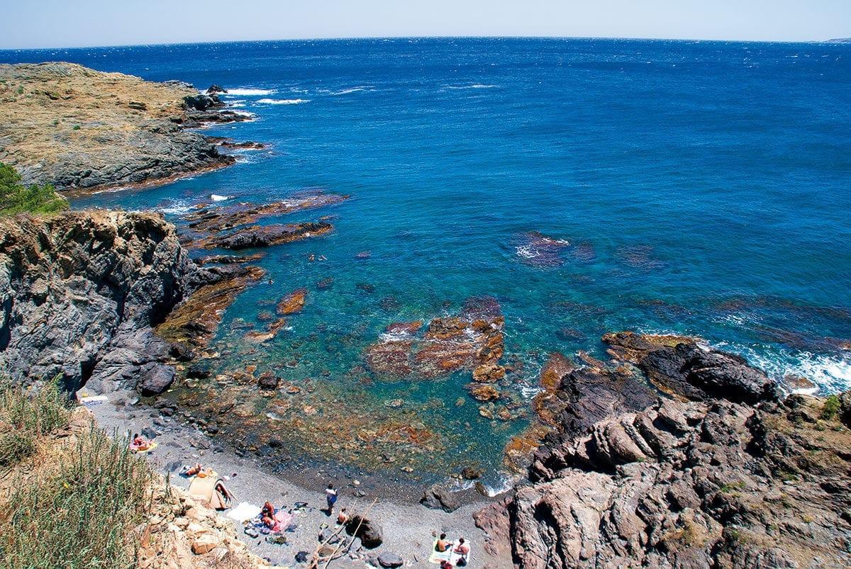 steinige Bucht Garbet