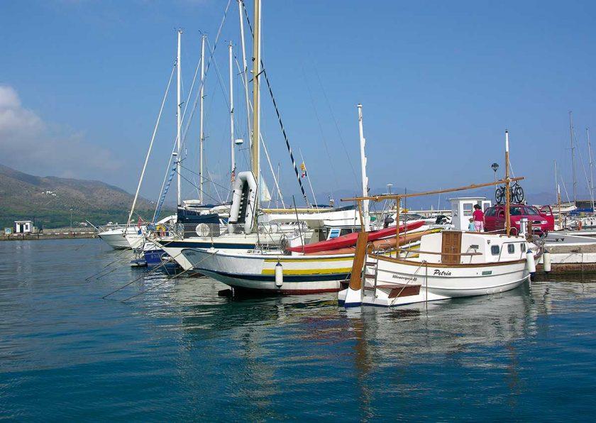 Mittelmeer Yachtausflug