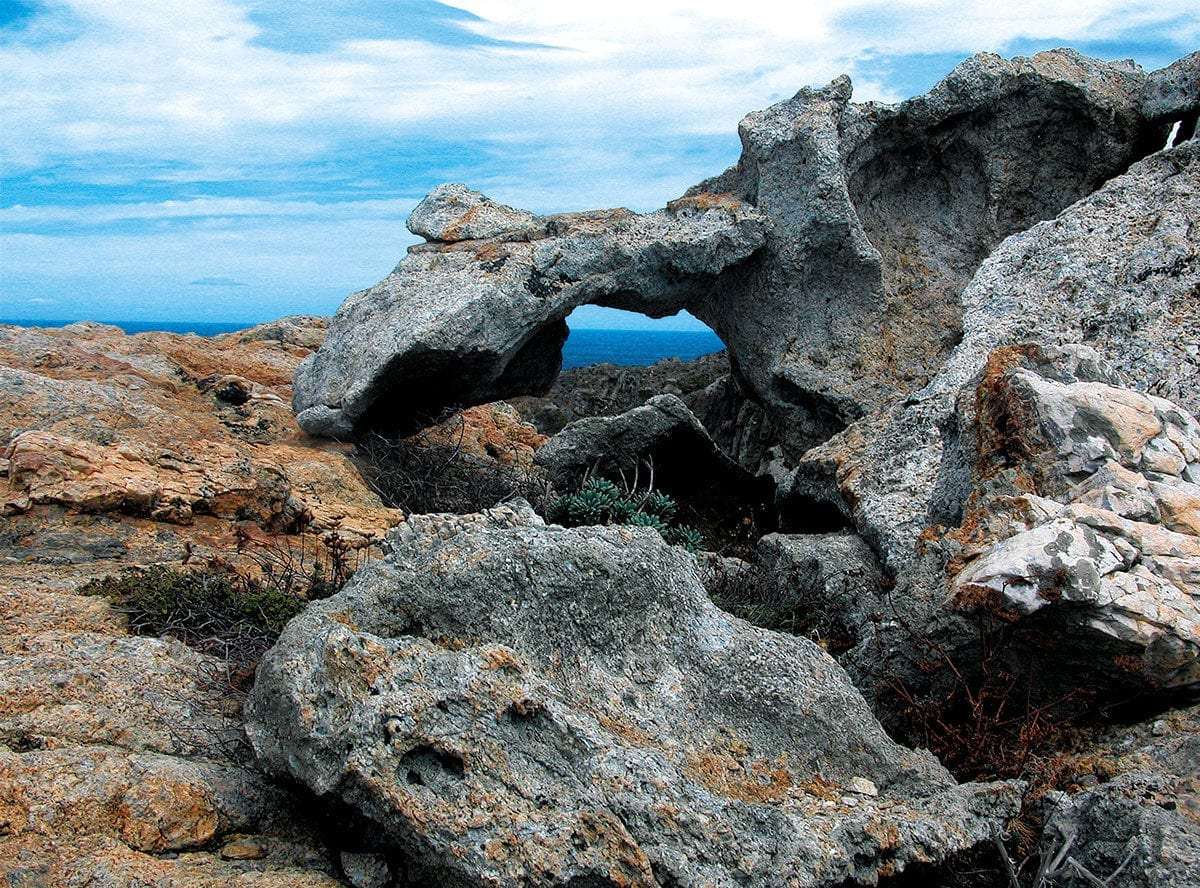 Steinbrücke am Cap de Creus