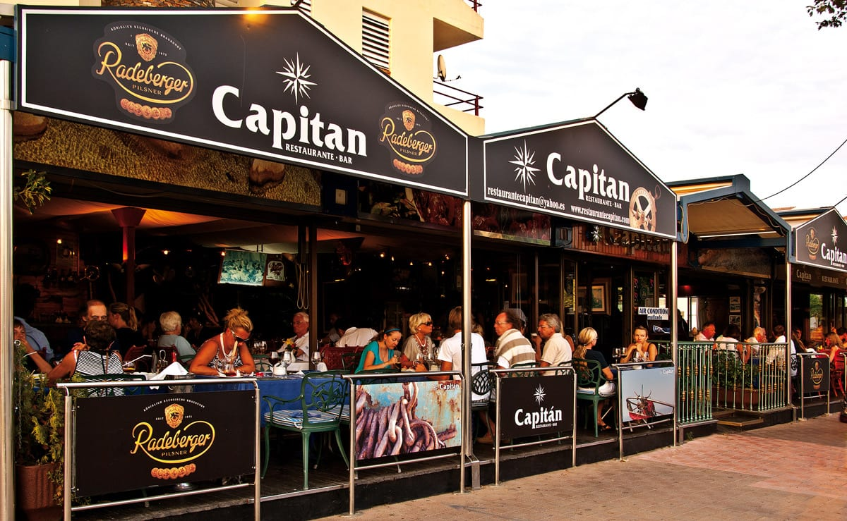 Capitan Restaurant in Empuriabrava