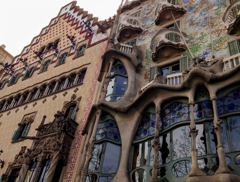 Außenansicht Casa Batlló.