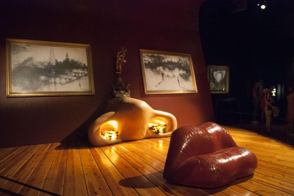 Dali-Gesicht-Museum