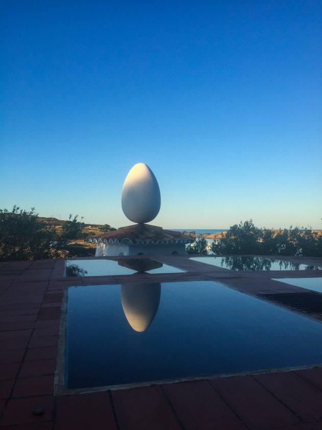 Eier im Dalí Haus
