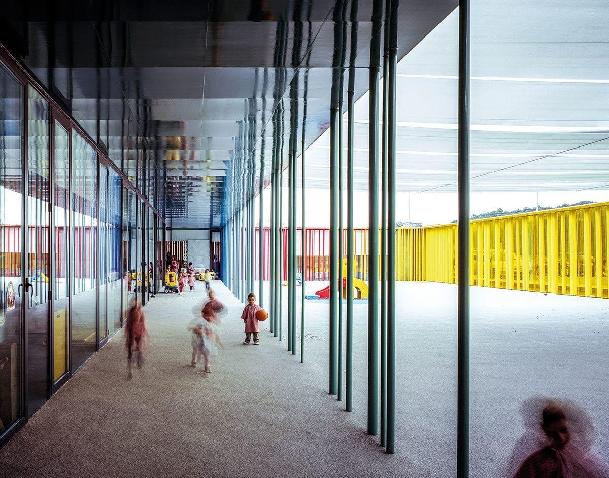 Offene Räume und viel Transparenz - Markenzeichen ihrer Architektur.