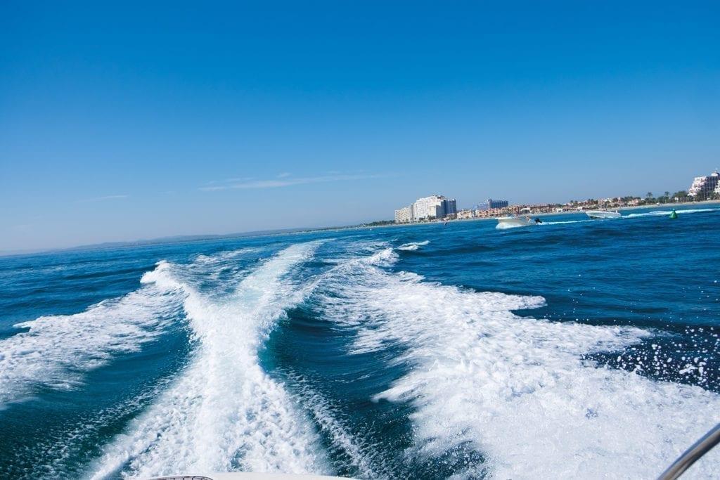 Nach Buchtenhopping zurück im Hafen von Empuriabrava