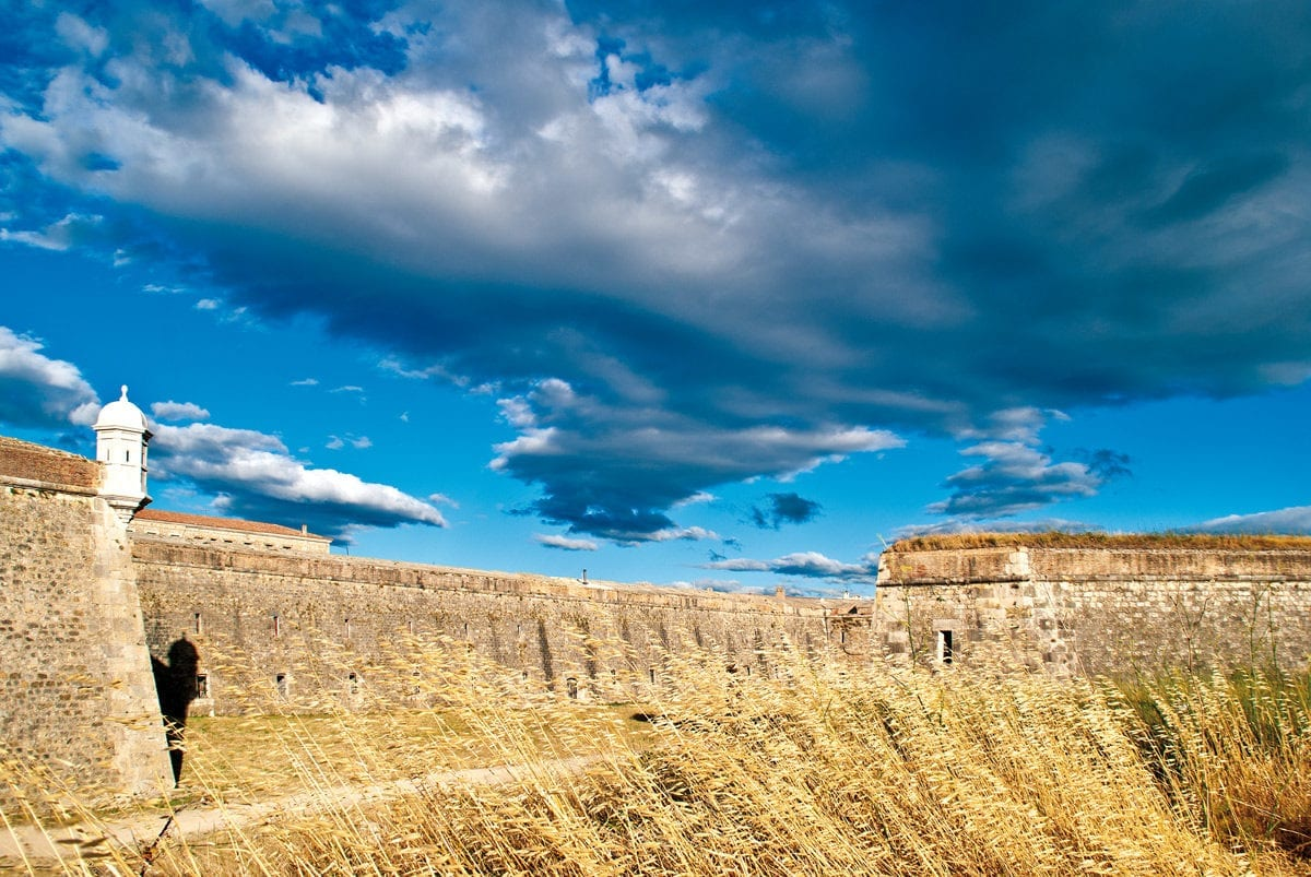 Festung Sant Ferran Rundweg