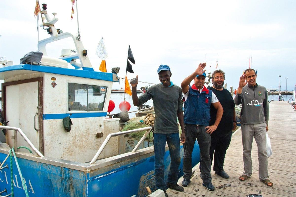 Die Crew unseren Fischerbootes