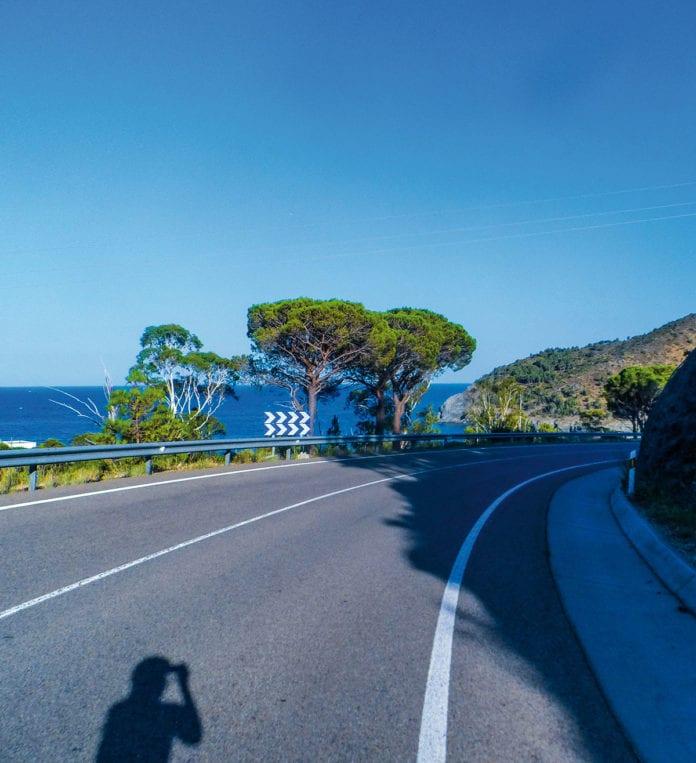 Straße Richtung Lana